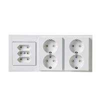 Fantastisk Vägguttag IP21/IP44 | ABB Oy, Wiring accessories FA-46